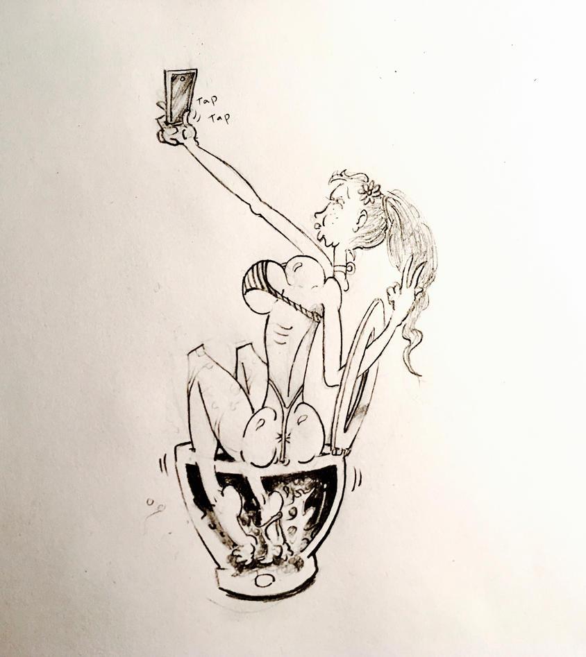 Selfie Jenny by Frageroo