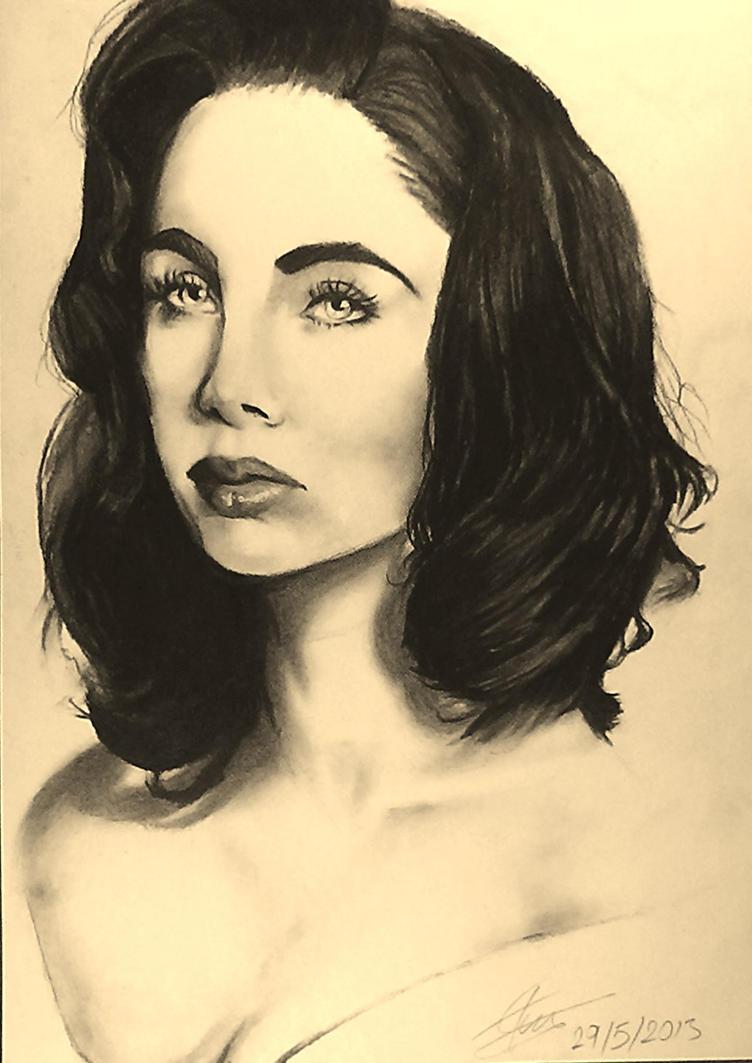 Ksenia Solo portrait by ToiFactory