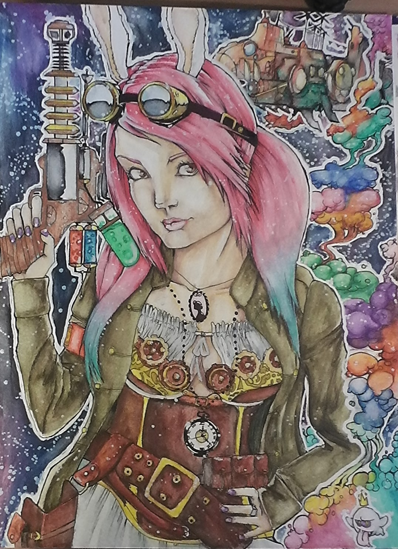 Smoke and Rayguns (Steampunk) by ToiFactory