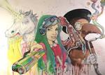Colour Party (Watercolour)