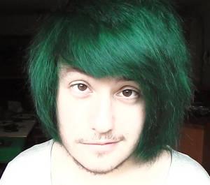 stupid green hair