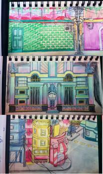 Rough architecture sketches