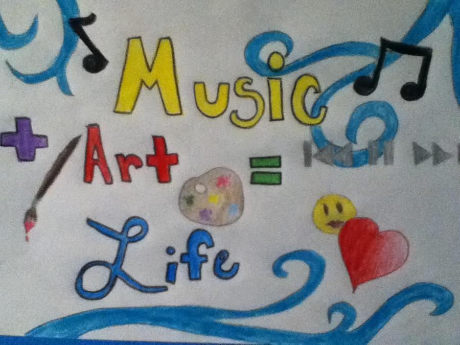 Music Art Life by WickedLover4eva