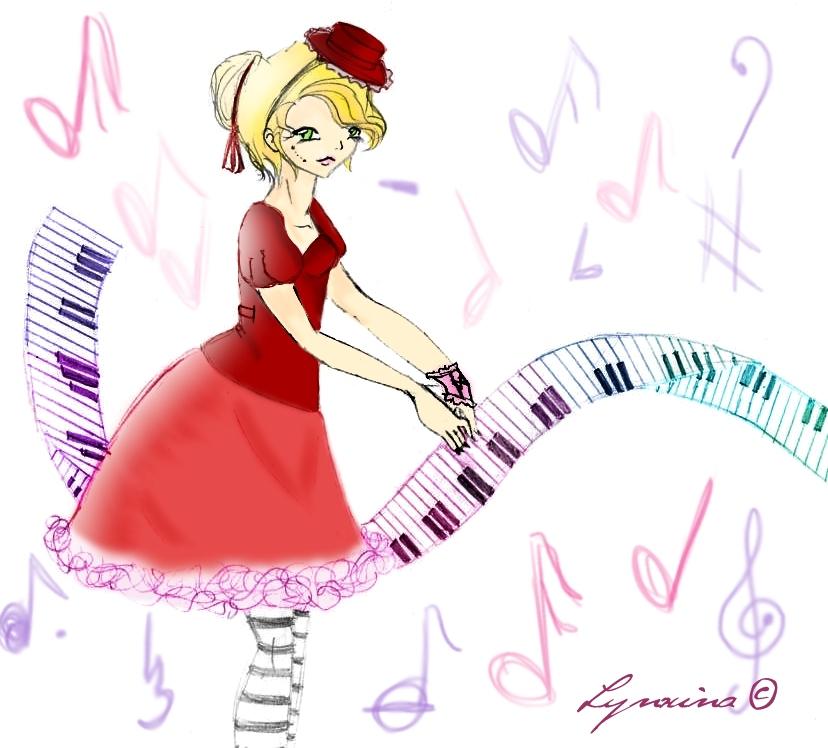 Piano by Lynxina