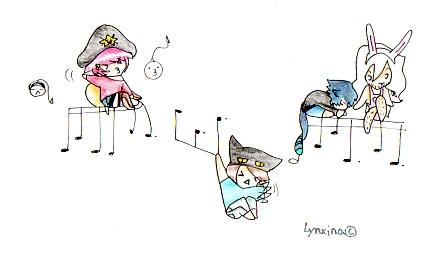 Chibi time by Lynxina