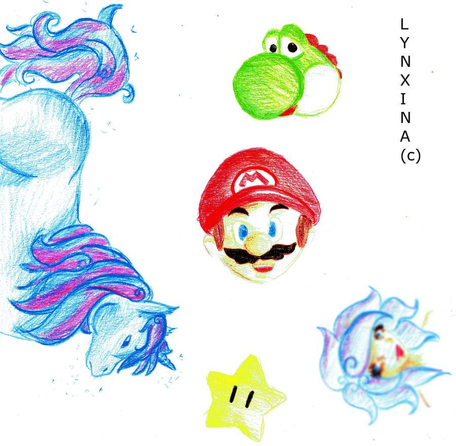 Its me Mario by Lynxina