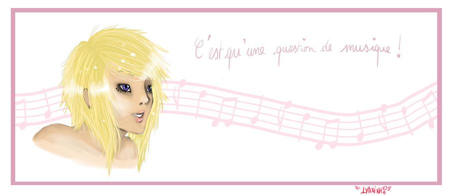Du rose et du blond by Lynxina