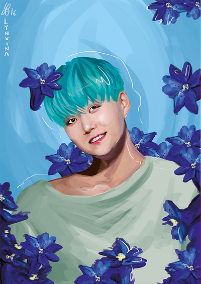Yoongi by Lynxina