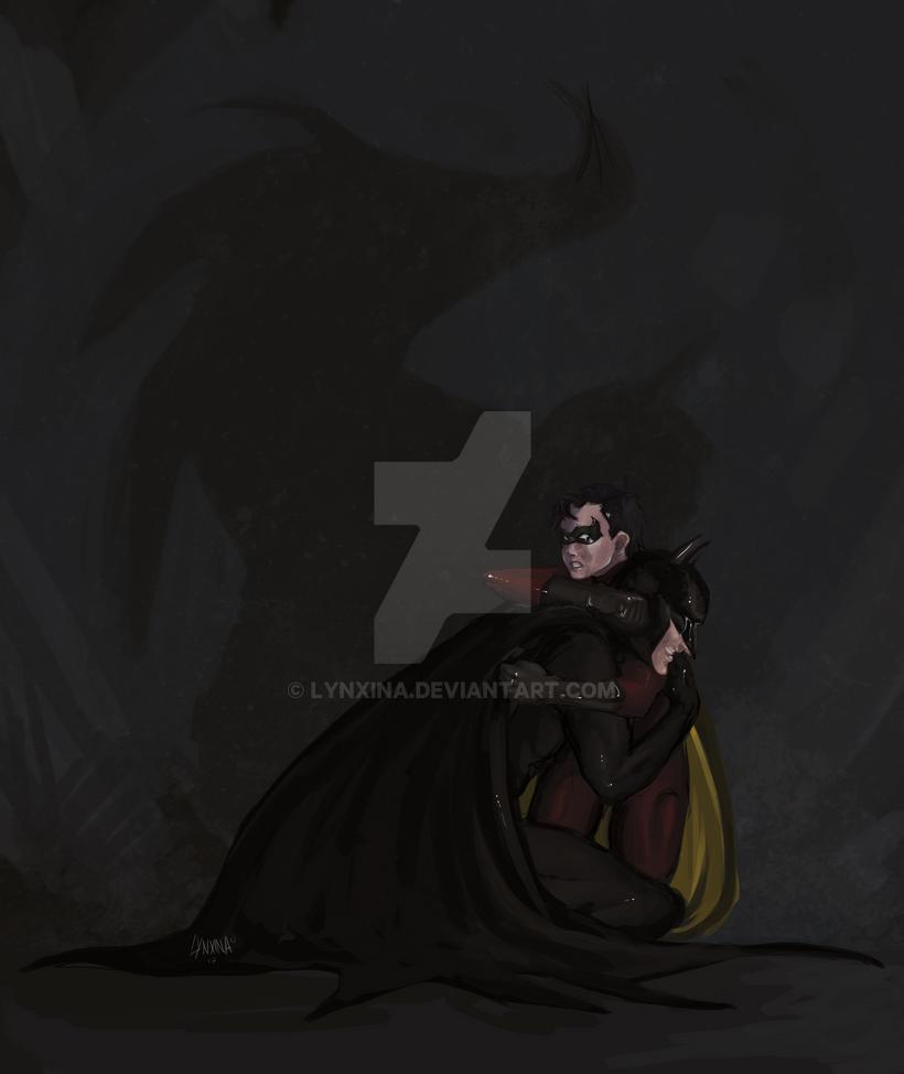 commission batman et robin by Lynxina