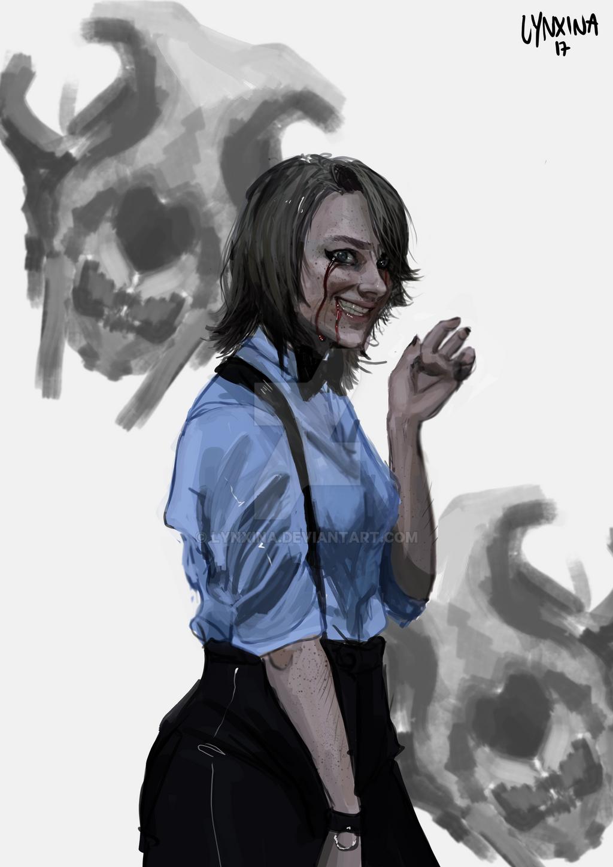 autoportrait by Lynxina