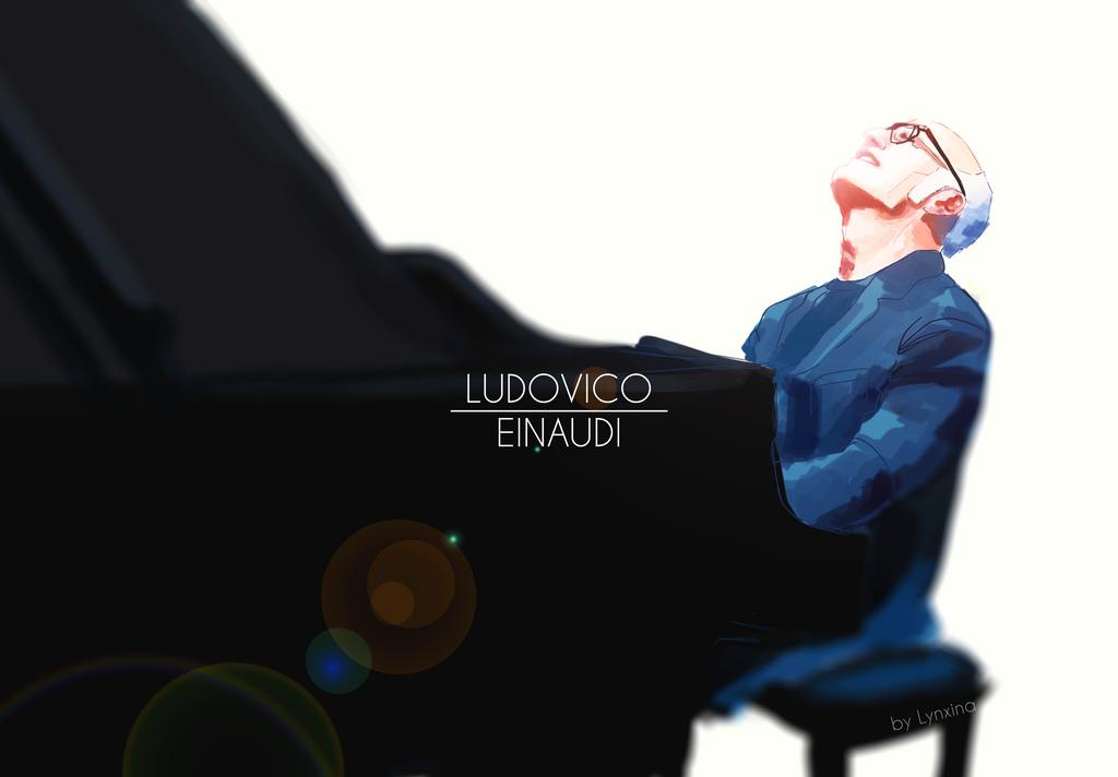 Ludovico Einaudi by Lynxina