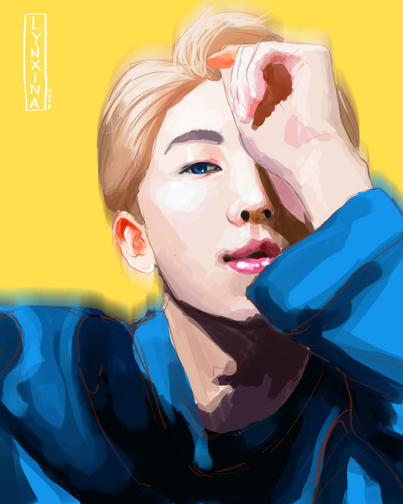 Namjoon by Lynxina