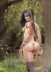 Woodland Warrior by supersolidusnake