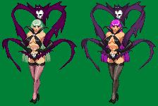 Morrigan [Darkstalkers rejected concept] by sabockee