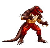 [KOF XIV] snk King of Dinosaurs by sabockee