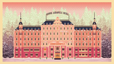 Grand Budapest Hotel by sabockee
