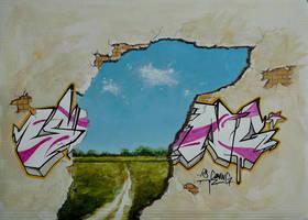 spring canvas by jasir0ne