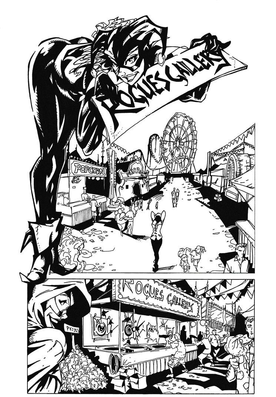 Harley Quinn 'Rogues Gallery' by BluetheInker