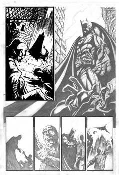 Batman WIP - Pencils by VASS-comics