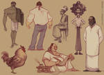 Today's character explorations...