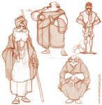 Rough character explorations...