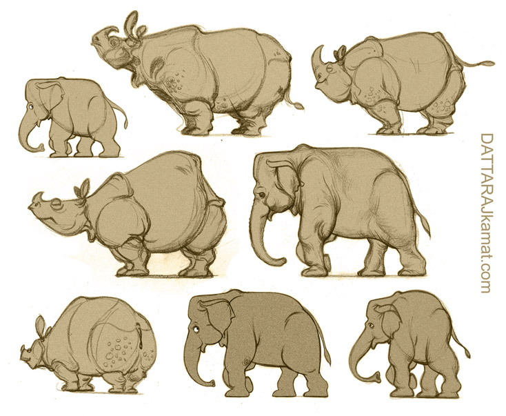 Art Of Animal Character Design Pdf : Characters a copy by dattaraj on deviantart