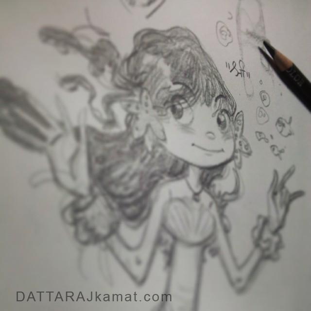 Characterdesign 86 dattarajkamat(dot)com Instagram by Dattaraj