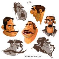 Characterdesign 121  dattarajkamat(dot)com