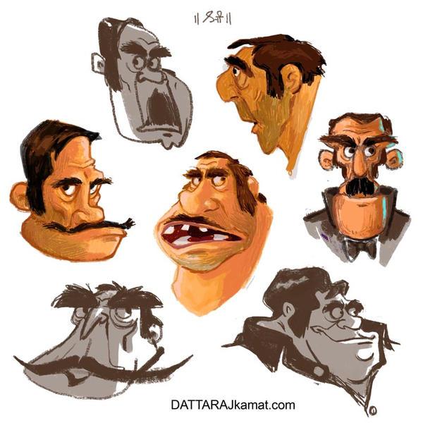Characterdesign 121  dattarajkamat(dot)com  by Dattaraj