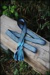 Tablet woven belt