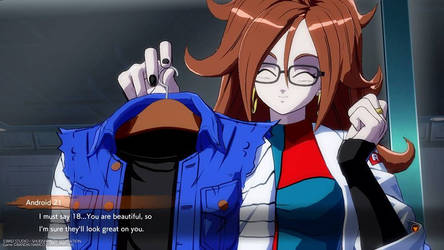 Cute Android 21