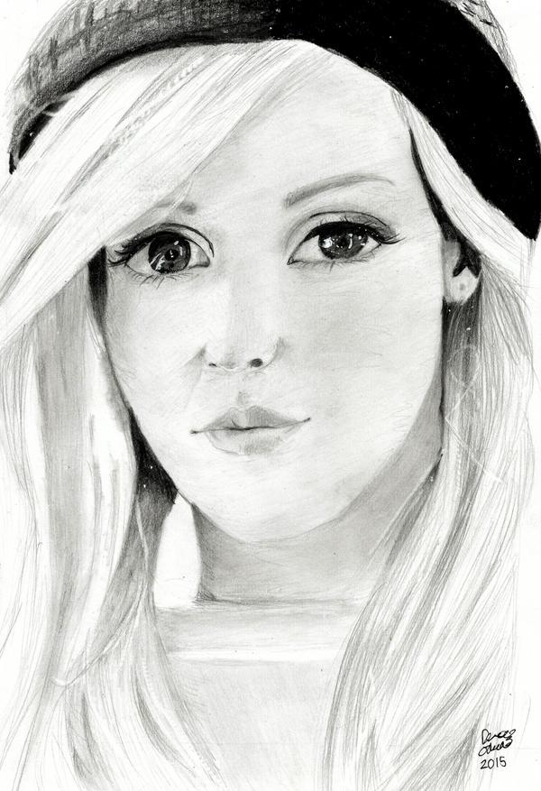 Ellie Goulding by BladeWithin