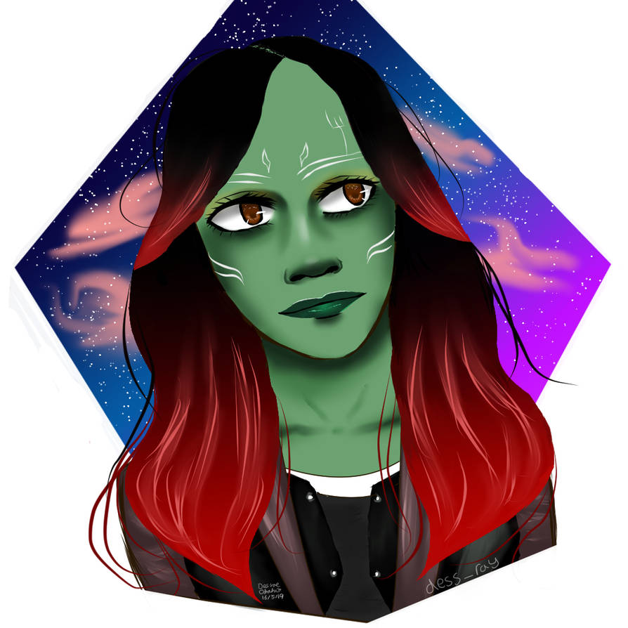 Gamora by BladeWithin