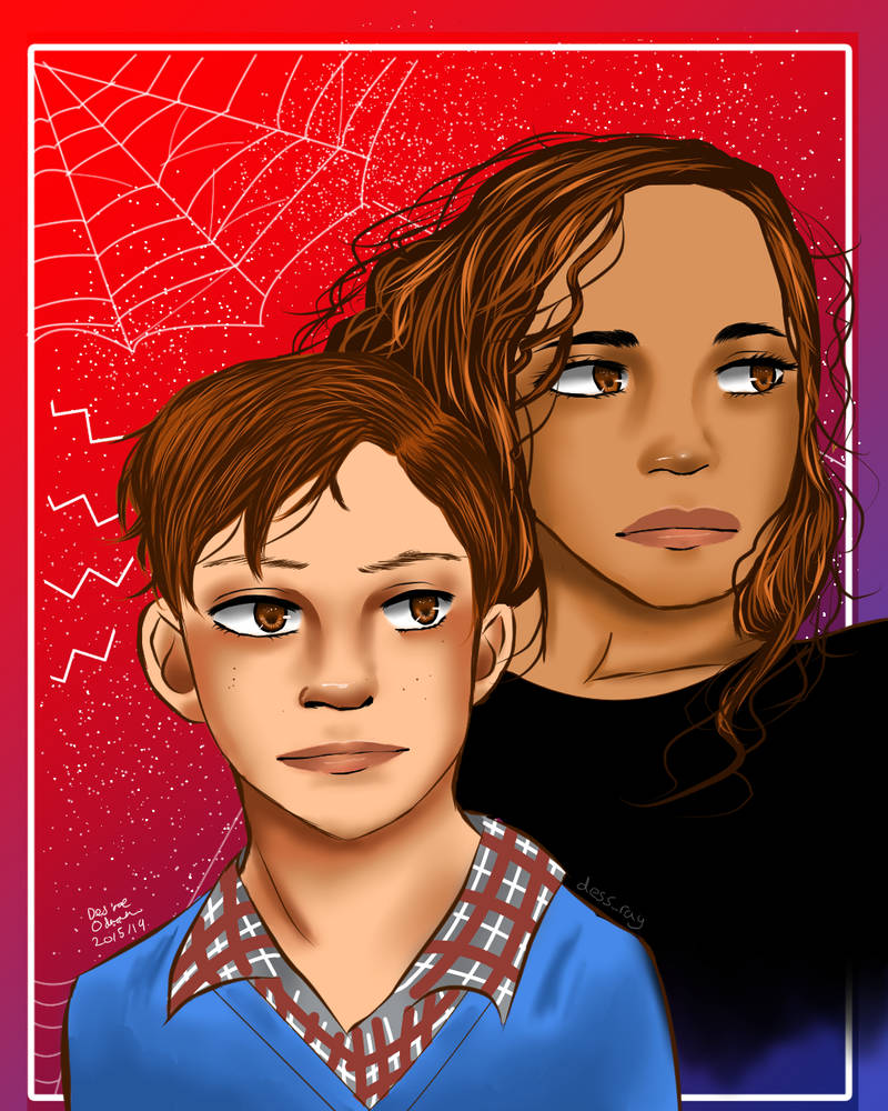 Peter and MJ by BladeWithin