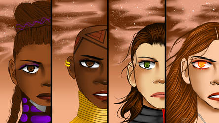 Women of Endgame PT 1 by BladeWithin