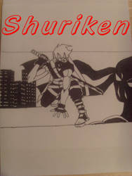 Shuriken:Cover Page by Frequent-Blackouts