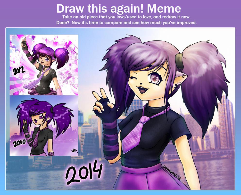Drawthisagainmeme by Darkashter