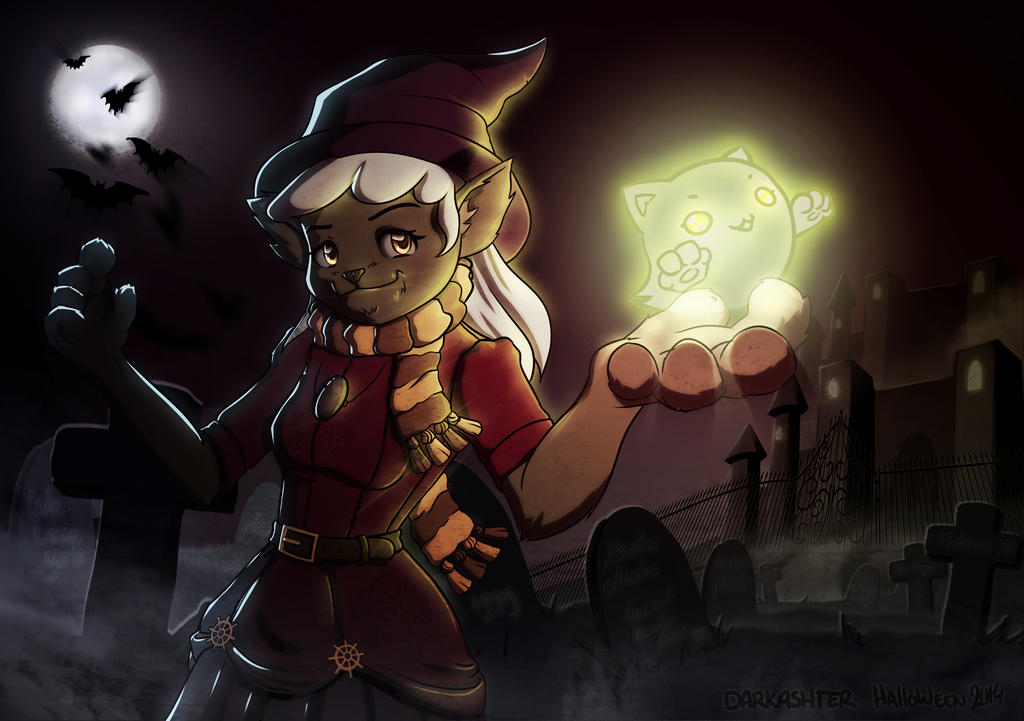 Happy Halloween! by Darkashter