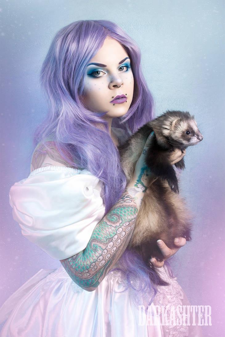 Magical Ferretmom by Vanderstorme