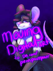 MOVING DIGITAL ART TO OTHER ACCOUNT