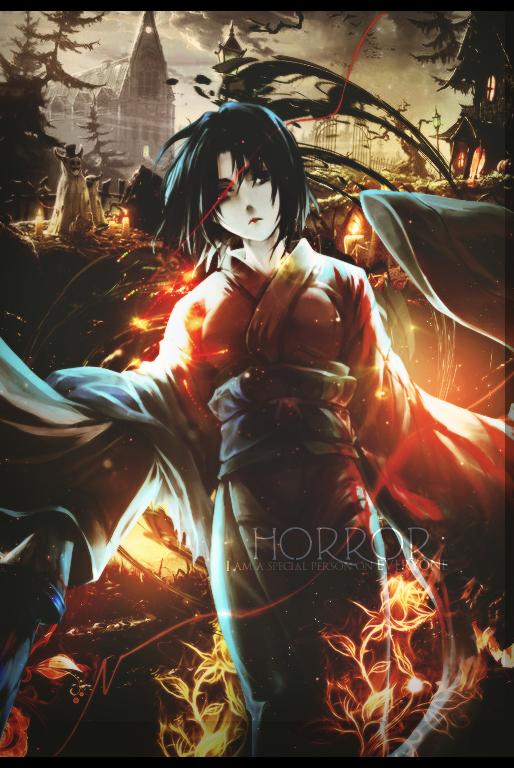 Horror Japan by Minami-Eri