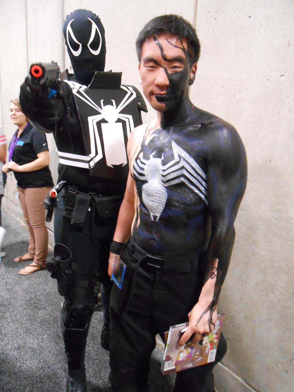 Agent Venom and Venom by pa68 on DeviantArt