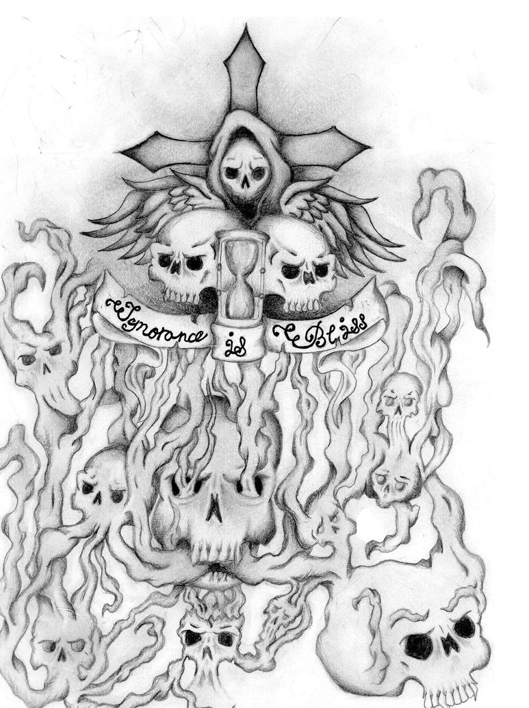 So we have come up today with a collection of unique and out of the box designs of Grim Reaper Tattoos that can fascinate you and inspire you for your next tattoo