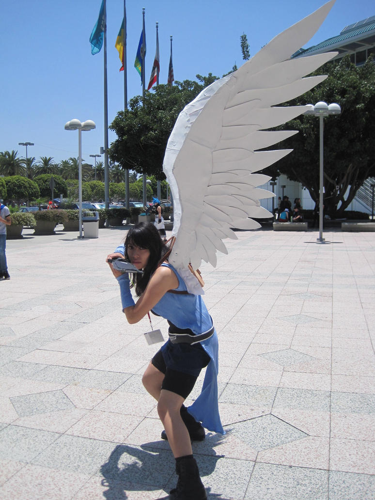On the Angel Wings of Riona by PockyPlus