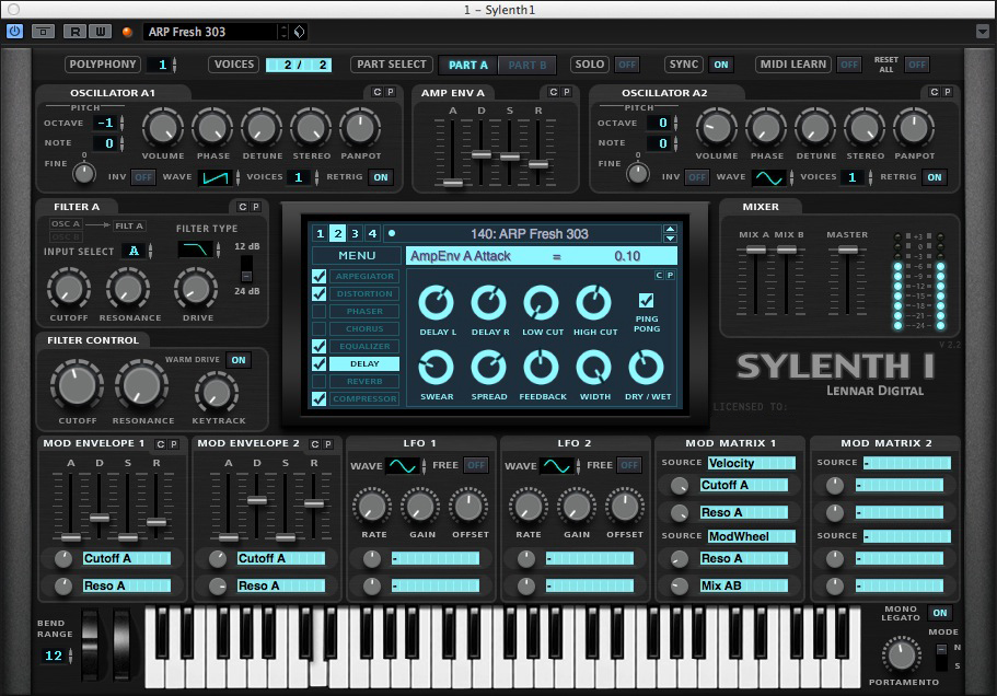New Sylenth1 Skin | AudioSEX - Professional Audio Forum