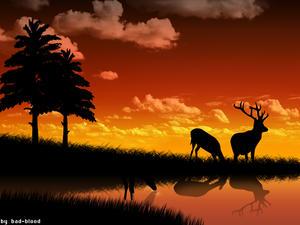 deers by Bad-Blood