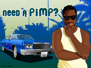 need a pimp ? 'blue version' by Bad-Blood