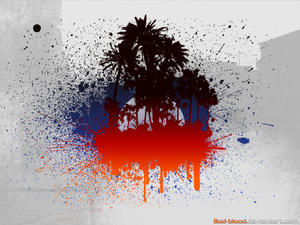 splatters island by Bad-Blood