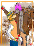 Furry Cowboys by ArikoLadyKawaii