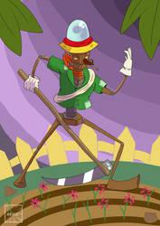 OC: GRANBO (The farmer robot)